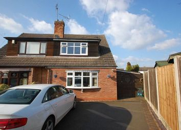 Thumbnail 3 bed property to rent in Standing Butts Close, Walton Upon Trent, Burton Upon Trent, Staffordshire