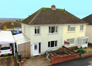 Thumbnail 3 bed semi-detached house for sale in Fox Road, Beacon Heath, Exeter, Devon