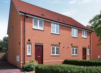 """Thumbnail 3 bed semi-detached house for sale in """"The Eveleigh A"""" at Halstead Road, Kirby Cross, Frinton-On-Sea"""