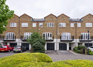 Thumbnail 4 bed town house to rent in Princes Riverside Road, London