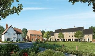 Thumbnail 2 bedroom terraced house to rent in Walne Close, Framlingham, Woodbridge