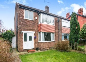 Thumbnail 3 bed semi-detached house for sale in Didsbury Road, Stockport, Greater Manchester
