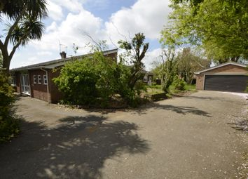 Thumbnail 4 bed detached bungalow for sale in Marcus Road, Felixstowe