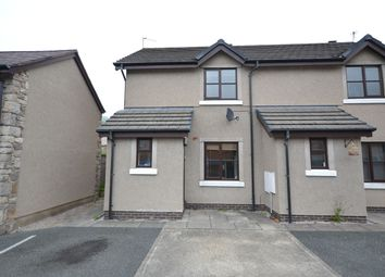 Thumbnail 2 bed semi-detached house to rent in Llys Marni, Abergele