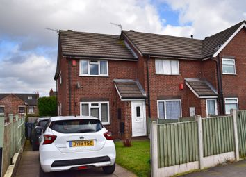 Thumbnail 2 bed end terrace house for sale in Normanton Grove, Adderley Green, Stoke-On-Trent