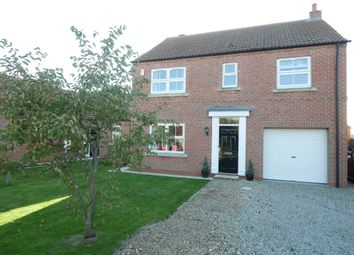 Thumbnail 4 bed detached house for sale in Meadow View, Eastrington, Goole