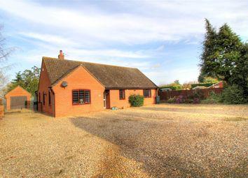Thumbnail 4 bed detached bungalow for sale in 2 Fen Street, Old Buckenham, Attleborough, Norfolk