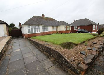 Thumbnail 2 bed semi-detached bungalow for sale in Franklyn Road, Old Aylestone, Leicester