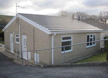 Thumbnail 2 bedroom semi-detached bungalow for sale in Richmond Park, Ystradgynlais, Swansea.