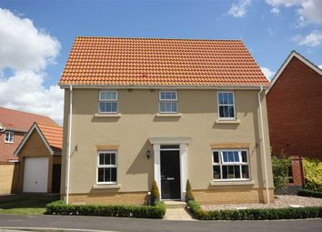 Thumbnail 3 bed detached house for sale in Grantham Avenue, Great Cornard, Sudbury