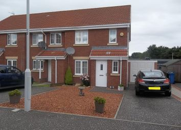 Thumbnail 3 bed end terrace house for sale in Woodlea Grove, Glenrothes