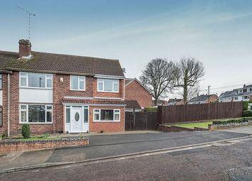 Thumbnail 4 bed semi-detached house for sale in Bishopton Close, Coventry