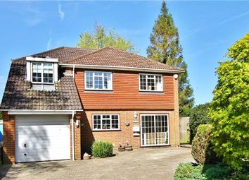 Thumbnail 5 bed detached house for sale in Bagshot Road, Englefield Green, Surrey