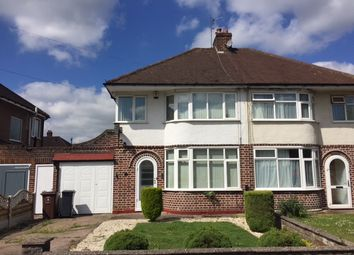 Thumbnail 3 bed semi-detached house to rent in Malcolm Road, Shirley, Solihull, West Midlands