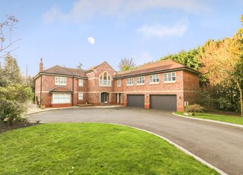 Thumbnail 5 bed detached house for sale in Underwood Road, Alderley Edge