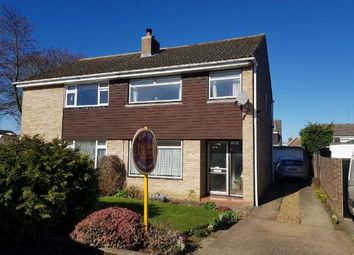 Thumbnail 3 bed semi-detached house for sale in Horsewell Court, Moulton, Northampton