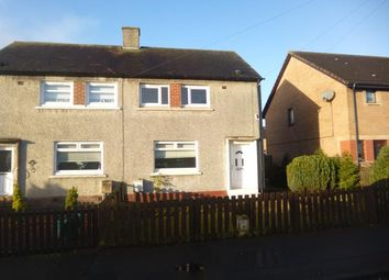 Thumbnail 2 bed semi-detached house to rent in Mill Road, Harthill, Shotts