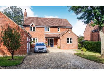 Thumbnail 4 bed detached house for sale in Down Mill Drive, Sporle, King's Lynn