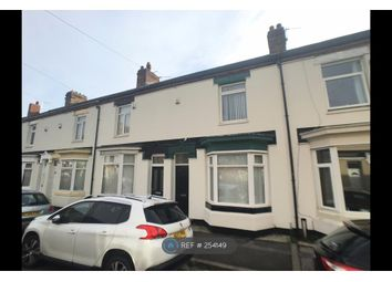 Thumbnail 2 bedroom terraced house to rent in Marlborough Road, Stockton-On-Tees