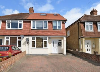 Thumbnail 4 bed semi-detached house for sale in Ashcroft Road, Chessington