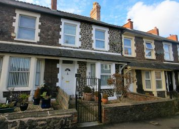 Thumbnail 3 bed terraced house for sale in Summerland Road, Minehead