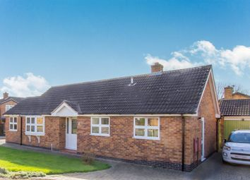 Thumbnail 2 bed detached bungalow for sale in Broomhills Road, Narborough, Leicester