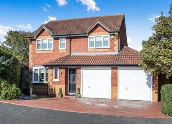 Thumbnail 4 bed detached house for sale in Wolverton Road, Marston Green, Birmingham, .