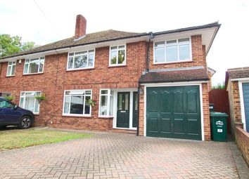 Thumbnail 5 bed semi-detached house for sale in Glen Close, Shepperton