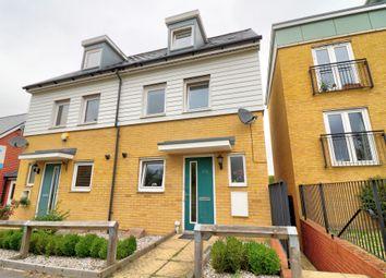3 bed semi-detached house for sale in Torkildsen Way, Harlow CM20