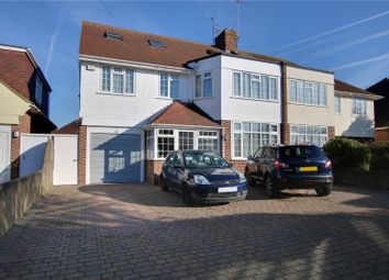 Thumbnail 6 bed semi-detached house for sale in Trent Road, Goring By Sea, Worthing, West Sussex