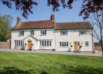 Thumbnail 6 bed farmhouse for sale in Debden Green, Saffron Walden