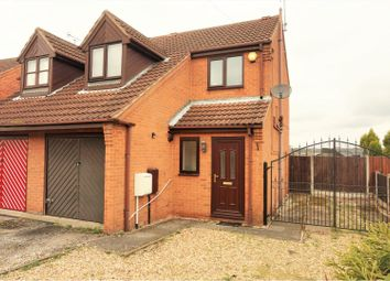 Thumbnail 3 bed semi-detached house for sale in Maun Crescent, New Ollerton, Newark
