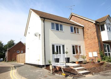 Thumbnail 3 bed semi-detached house for sale in Morgan Court, Claydon, Ipswich, Suffolk