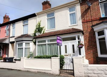Thumbnail 3 bed terraced house for sale in Newbridge Street, Wolverhampton