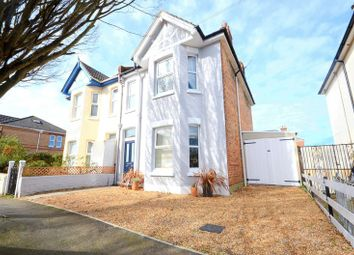 Thumbnail 3 bedroom semi-detached house for sale in Grants Avenue, Bournemouth