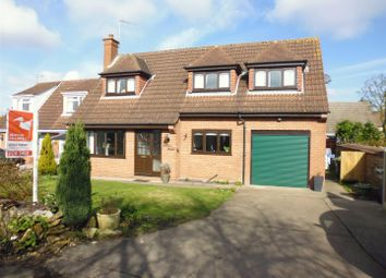 Thumbnail 3 bed detached house for sale in Blind Lane, Waddington, Lincoln