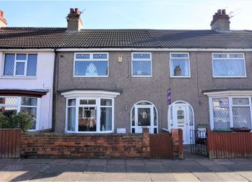 Thumbnail 3 bed terraced house for sale in Wilson Street, Cleethorpes