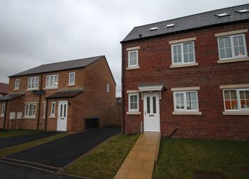 Thumbnail 3 bed semi-detached house to rent in Askrigg Close, Delves Lane, Consett