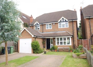 Thumbnail 4 bed detached house to rent in Brampton Road, St.Albans