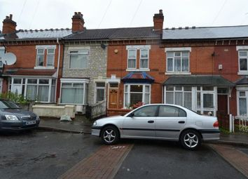 Thumbnail 2 bedroom terraced house to rent in Grove Road, Sparkhill, Birmingham