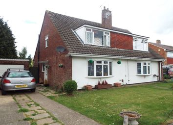 Thumbnail 3 bed semi-detached house for sale in Ember Road, Langley, Slough