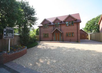 Thumbnail 4 bed detached house for sale in Shorefield Crescent, Milford On Sea