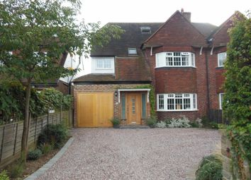 Thumbnail 5 bed semi-detached house for sale in Ambleside Avenue, Walton-On-Thames