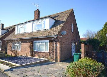 Thumbnail 3 bed semi-detached house for sale in Brett Road, Arkley, Barnet