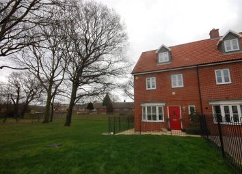 Thumbnail 4 bed end terrace house for sale in Dennington Crescent, Basildon, Essex
