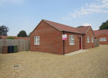 Thumbnail 2 bed detached bungalow for sale in Ramnoth Road, Wisbech