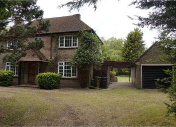 Thumbnail 3 bed detached house for sale in Chilver House Lane, King's Lynn