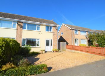 Thumbnail 3 bed semi-detached house for sale in Templars Way, South Witham, Grantham