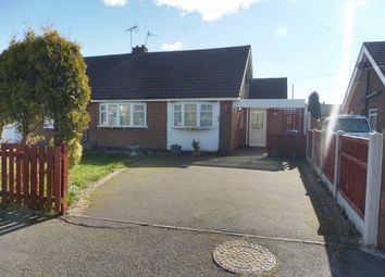Thumbnail 3 bed semi-detached bungalow for sale in Davids Close, Chellaston, Derby