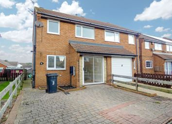 Thumbnail 3 bedroom semi-detached house for sale in Manor View, Newbiggin-By-The-Sea